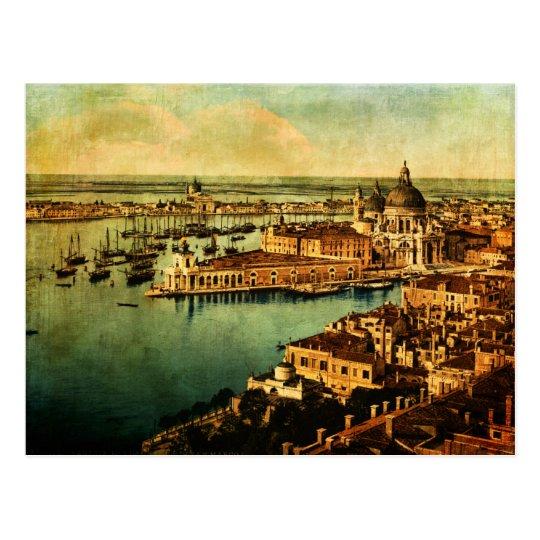 Venecia observó postal