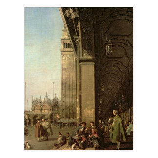 Venecia: Piazza di San Marco y la columnata Postal
