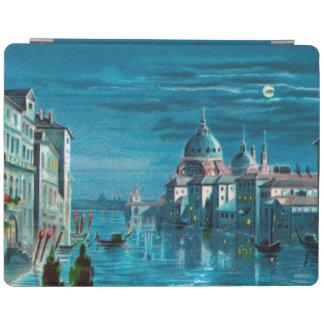 Venecia por claro de luna cubierta de iPad