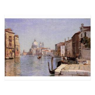 Venecia - vista del della Carita de Campo que Postal