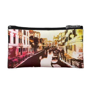 Venedig, arco iris Popart del panorama de Venecia Estuche De Maquillaje