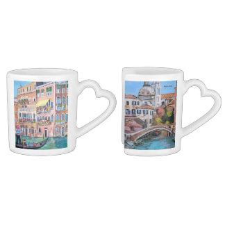 Venezia - sistema de la taza de café