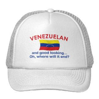Venezolano apuesto gorros bordados