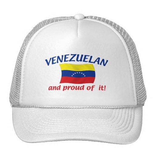 Venezolano orgulloso gorros bordados