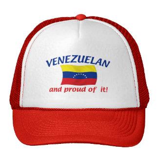 Venezolano orgulloso gorras