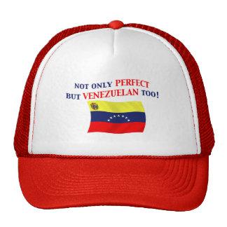 Venezolano perfecto gorro