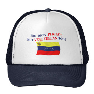 Venezolano perfecto gorros