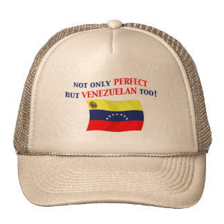 Venezolano perfecto gorros bordados