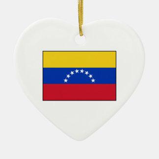 Venezuela - bandera venezolana adorno para reyes