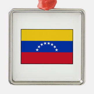 Venezuela - bandera venezolana adorno de navidad