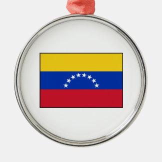 Venezuela - bandera venezolana adorno de reyes