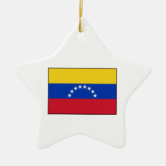 Venezuela - bandera venezolana ornaments para arbol de navidad