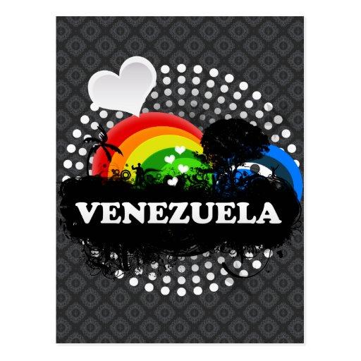 Venezuela con sabor a fruta linda tarjetas postales