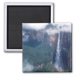 Venezuela, el Salto Ángel, parque nacional de Cana Imán Cuadrado