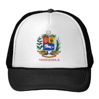 VENEZUELA - emblema escudo de armas bandera símbol Gorros Bordados