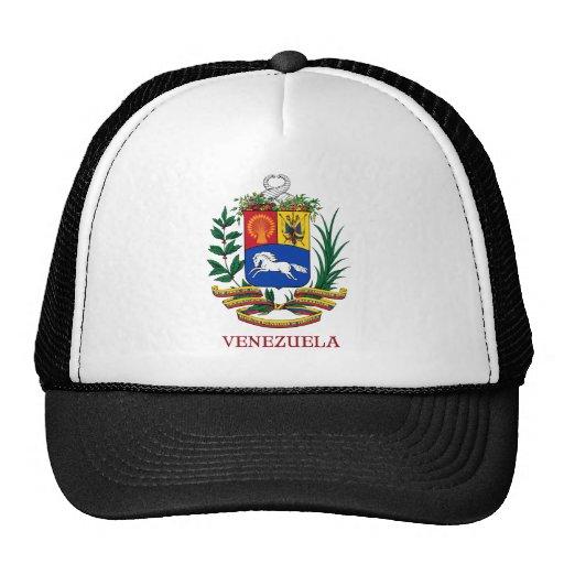VENEZUELA - emblema/escudo de armas/bandera/símbol Gorros Bordados