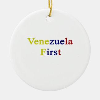 Venezuela primero ornamento para reyes magos