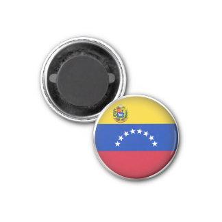 Venezuela redonda iman de frigorífico