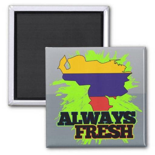Venezuela siempre fresca imán de frigorifico