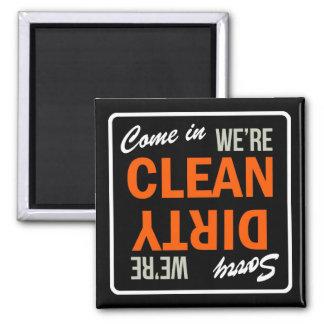Venido adentro somos imán limpio del lavaplatos