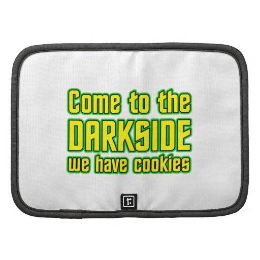 Venido al Darkside tenemos galletas Planificador