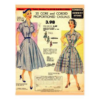 Venta 1953 del vestido de la tienda del postal