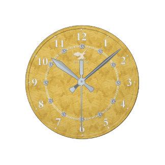 Venta adornada moderna del reloj de pared del