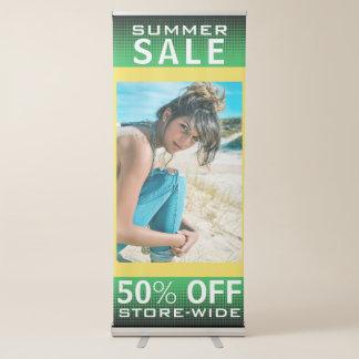 Venta de la moda del verano de la primavera pancartas retráctiles