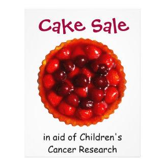 Venta de la torta para el aviador de la caridad folleto 21,6 x 28 cm