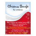 Ventaja del navidad para el aviador de los niños tarjetas informativas
