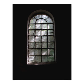 Ventana fantasmagórica folleto 21,6 x 28 cm