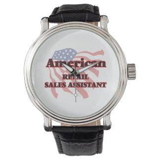 Ventas al por menor americanas auxiliares relojes