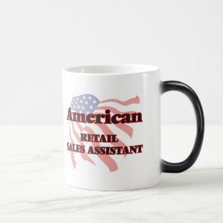 Ventas al por menor americanas auxiliares taza mágica