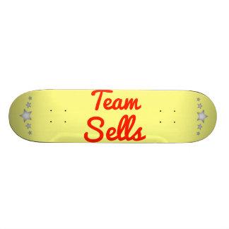 Ventas del equipo tablas de skate