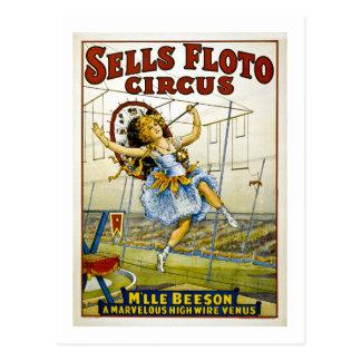 Ventas Floto 1921 - M'lle Beeson Postal