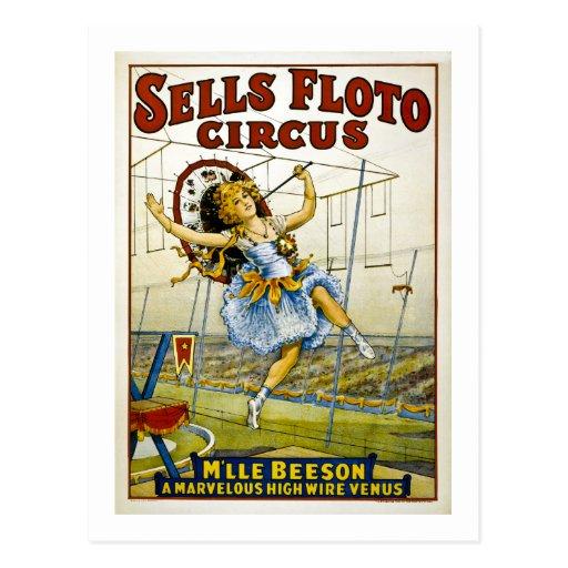 Ventas Floto 1921 - M'lle Beeson Tarjetas Postales