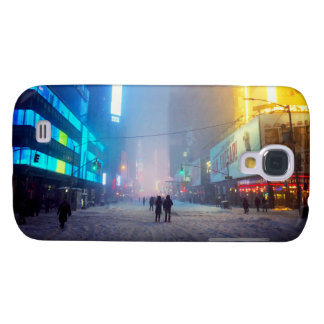 Ventisca en Times Square Funda Para Samsung Galaxy S4
