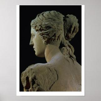 Venus de Milo, detalle de la parte posterior de la Poster