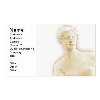 Venus de Milo Tarjetas De Visita