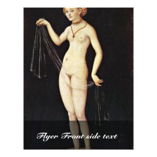 Venus por Cranach D Ä Lucas la mejor calidad Flyer A Todo Color