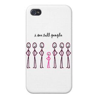 Veo a gente alta iPhone 4 fundas