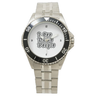 Veo a gente muda reloj