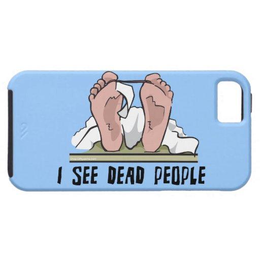 Veo a gente muerta iPhone 5 Case-Mate protector