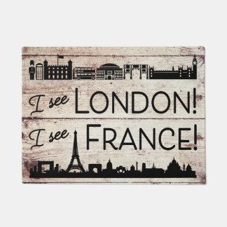 Veo Londres que veo el falso final de madera de