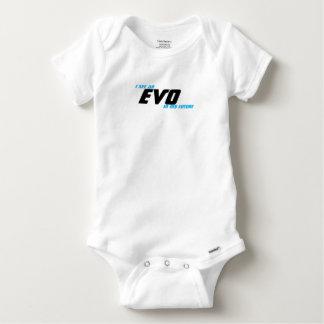 Veo un EVO en mi futuro Body Para Bebé