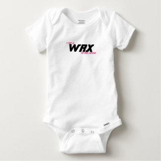 Veo un WRX en mi futuro Body Para Bebé