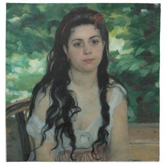 Verano, Auguste Renoir Servilleta