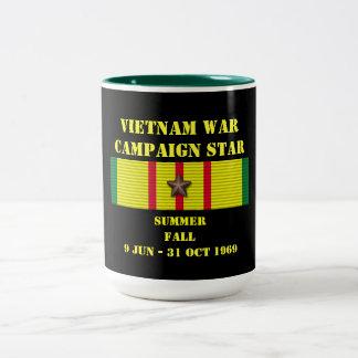 Verano - campaña/1969 de la caída taza de dos tonos
