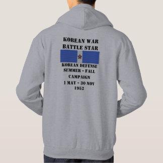 Verano coreano de la defensa - campaña de la caída jersey encapuchado