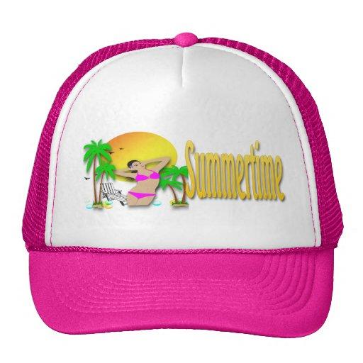 Verano - gorra del chica